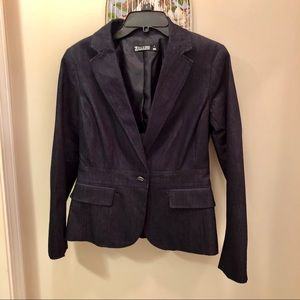 🍑New York and Co. Denim Blue Blazer